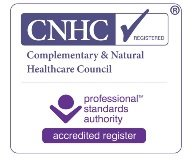 Chris Gelder registered by the Complementary and Natural Healthcare Council (CNHC), the government backed UK regulatory body for complementary healthcare practitioners
